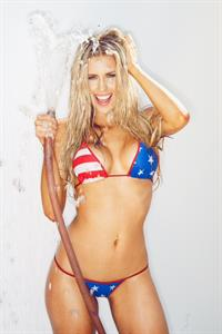 Kayla Rae Reid in a bikini