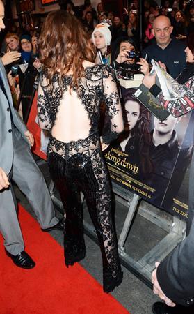 Kristen Stewart Breaking Dawn Part 2 London UK Premiere November 14, 2012