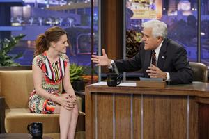 Kristen Stewart The Tonight Show with Jay Leno 11/5/12