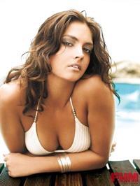 Candice Boucher in a bikini