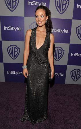 Olivia Wilde at the 11th Annual Warner Brothers In-Style Golden Globes after party at the Beverly Hilton hotel on January 17, 2010