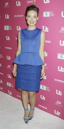 Olivia Wilde US Weekly Hot Hollywood Stars Who Care party November 18, 2010