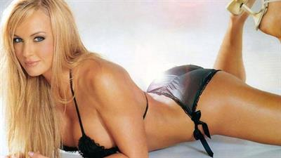 Nikki Visser in a bikini
