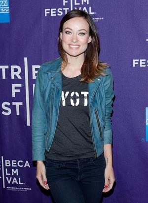 Olivia Wilde Tribeca Film Festival - Shorts Program -  The Rider and the Storm  - New York City - April 22, 2013