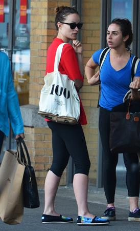 Olivia Wilde leaving a gym in New York City - May 2, 2013