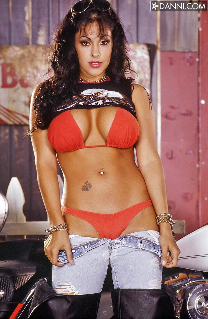 Nina Mercede in a bikini