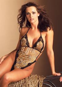 Karen McDougal in lingerie
