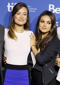 Olivia Wilde  Third Person Press Conference TIFF 9/10/13