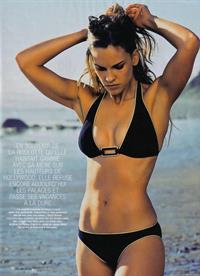 Hilary Swank in a bikini