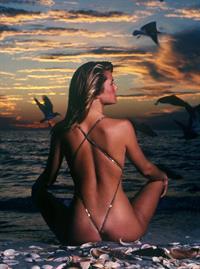 Christie Brinkley in a bikini - ass