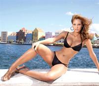 Laura Acuña in a bikini