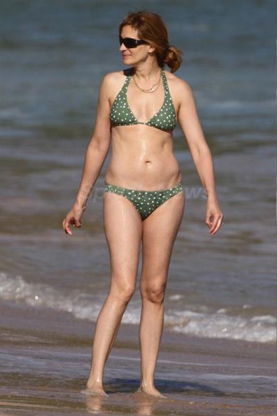 Julia Roberts in a bikini