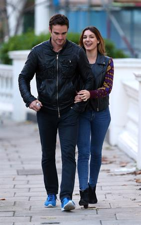 Kelly Brook out and about in London 11/23/12