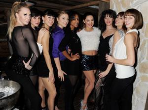 Kelly Brook Party at Bodo's Schloss restaurant in London 11/8/12