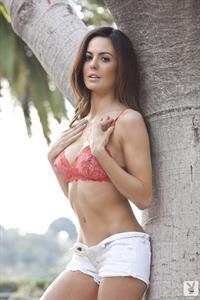 Audrey Nicole in lingerie