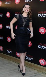 Kelly Brook Crazy Horse Paris presents Forever Crazy in London 10/16/12