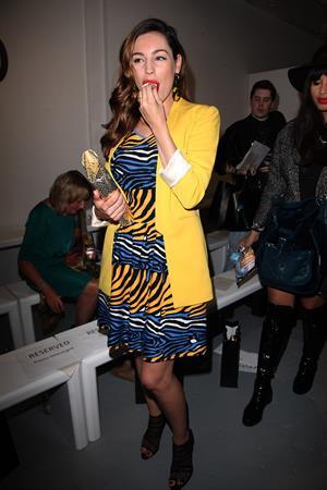 Kelly Brook - Zoe Jordan Fashion show in London - September 14, 2012