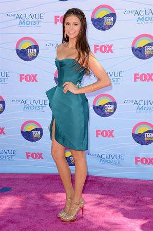Nina Dobrev 2012 Teen Choice Awards July 22, 2012