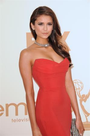 Nina Dobrev 63rd annual Primetime Emmy Awards September 18, 2011