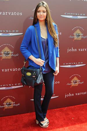 Nina Dobrev 9th annual John Varvatos Stuart House benefit in Los Angeles 11-3-2012