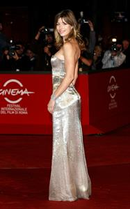 Jessica Biel Easy Virtue premiere during the 3rd Rome International Film Festival