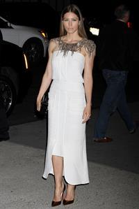 Jessica Biel Museum of Modern Art 2013 Film benefit: A Tribute To Tilda Swinton