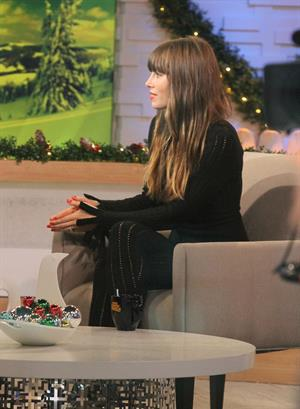 Jessica Biel At GMA Studios in New York City 04.12.12