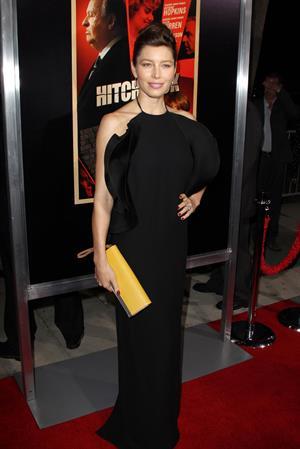 Jessica Biel  Hitchcock  Los Angeles Premiere (November 20, 2012)