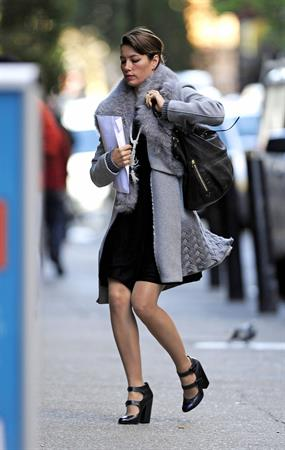 Jessica Biel out and about in New York City 11/9/12