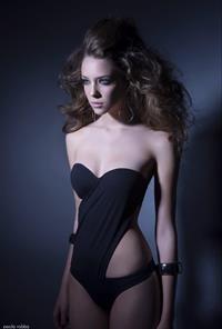 Nathalie Edenburg in a bikini