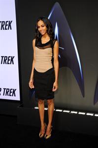 Zoe Saldana -  Star Trek  DVD release party - Los Angeles, Nov. 16, 2009