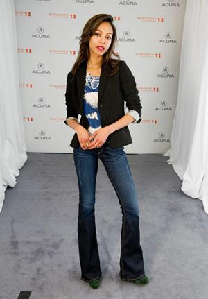 Zoe Saldana   The Words  Portraits at the 2012 Sundance Film Festival January 26, 2012