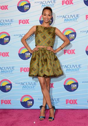 Zoe Saldana - 2012 Teen Choice Awards in Universal City (July 22, 2012)