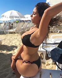 Coral Sharon in a bikini