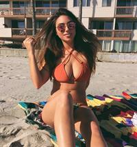 Enna Saffos in a bikini
