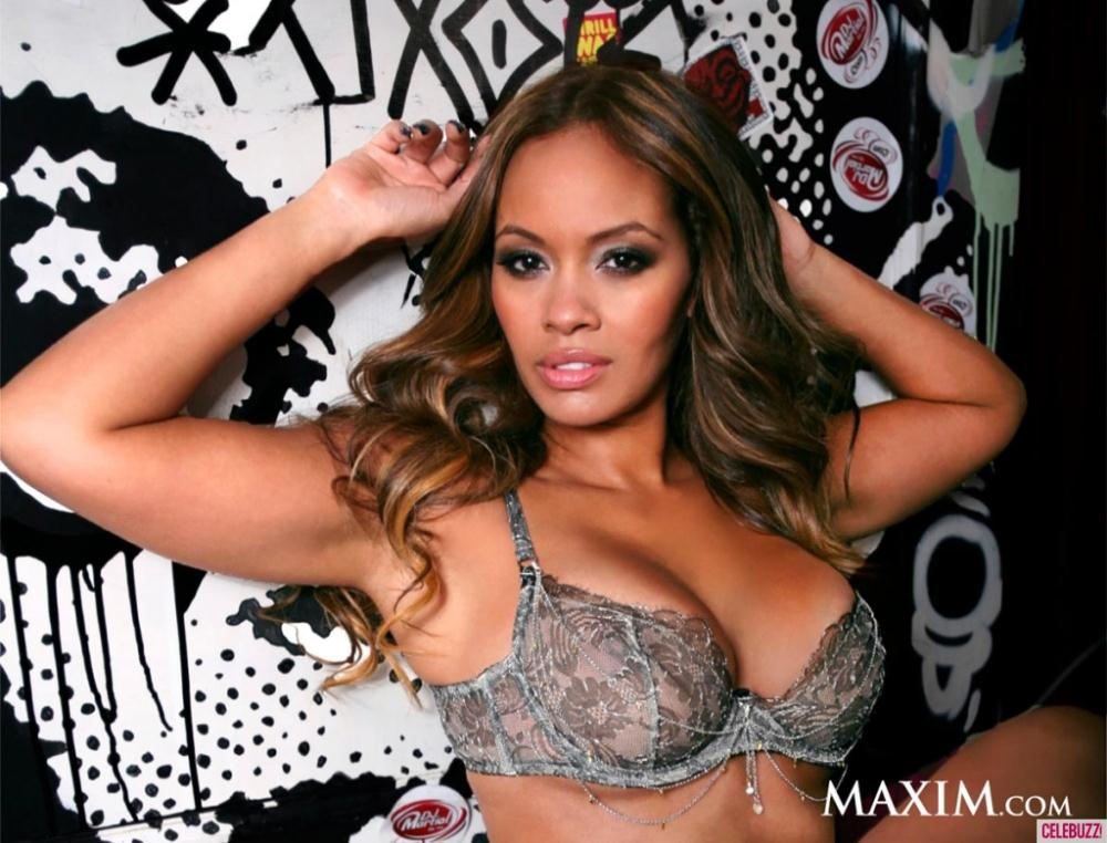 Evelyn Lozada in lingerie