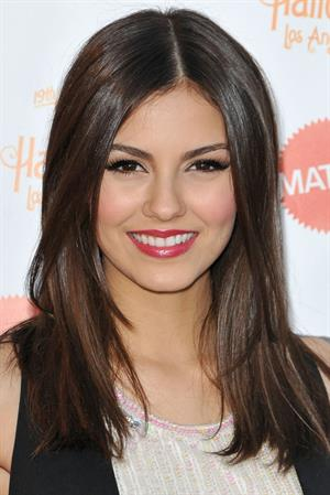 Victoria Justice at the Keep a Child Alive Dream Halloween party 10/27/12