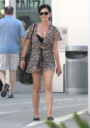 Katy Perry out at the movies with some friends at the Arclight Cinemas in Hollywood August 11, 2012