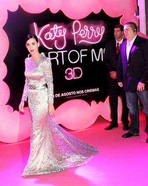 Katy Perry - Part of Me premiere in Rio de Janeiro 07/30/12