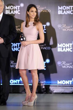 Jessica Alba Montblanc Press conference in Beijing 1-6-2012