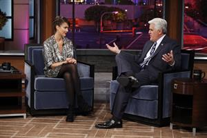 Jessica Alba on the Jay Leno Show February 1, 2010