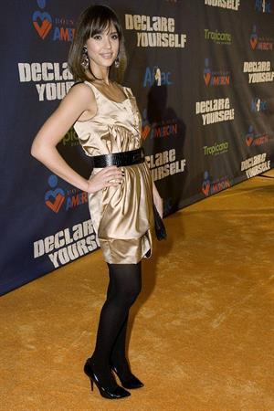 Jessica Alba Tropicana Pre Inauguration Party at Renaissance Washington hotel in Washington DC