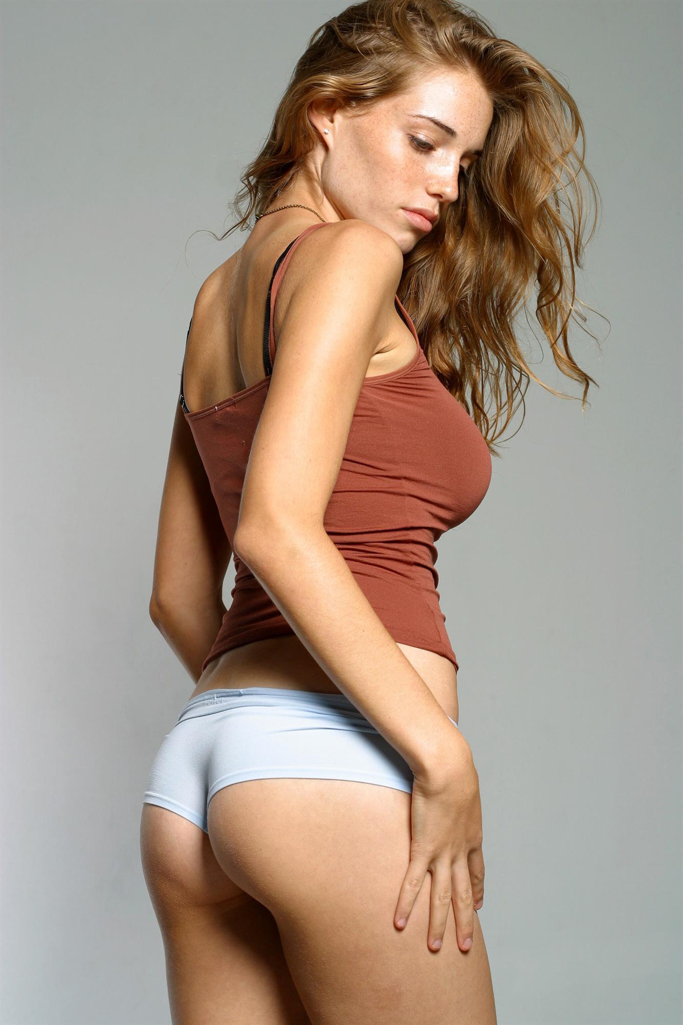 Amit Freidman in lingerie - ass