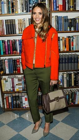 Jessica Alba at a book signing event in Long Island, NY 3/12/13