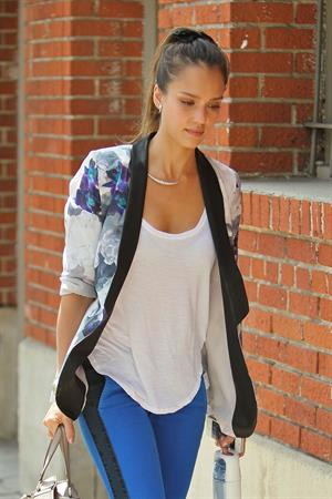 Jessica Alba in West Hollywood - August 23, 2012