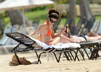 Eva Longoria at the beach in Puerto Rico - April 6, 2013