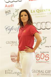Eva Longoria Global Gift Celebrity Golf Tourment in Marbella 03.08.13