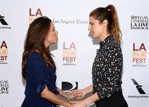 Eva Longoria In A World Premiere during Los Angeles Film Festival 16.06.13