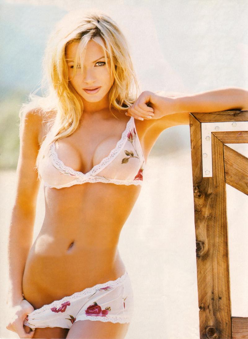 Nikki Ziering in lingerie