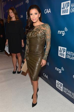Eva Longoria 6nd Annual Sean Penn and Friends Help Haiti Home Gala in LA 12.01.13